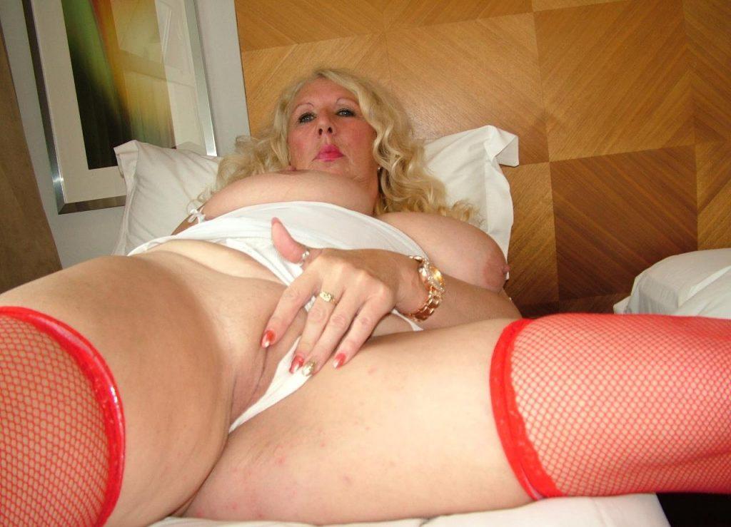 Cheryl in Bed